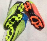 安い良質のフットボールは蹄鉄を打つスポーツの靴(FF1110-4)に