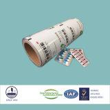 包装の微粒のための薬剤の合成のフィルム