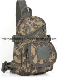 Loisirs de sports en plein air de camouflage faisant un cycle le sac simple de poitrine d'épaule (CY3621)