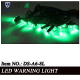 Noodsituatie LED Warning/Signal Lighthead voor Cars in Green LEDs (ds-a6-8L)