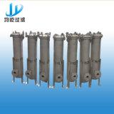 Solo filtro de bolso del acero inoxidable con un coste operacional más inferior