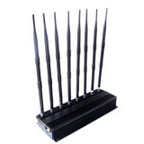 Brouilleur réglable de téléphone mobile du WiFi 3G 4G de VHF de fréquence ultra-haute avec la haute énergie 18W