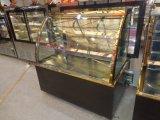 2개의 층은 유리에 의하여 냉장된 빵집 상자를 구부렸다