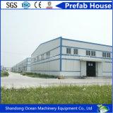 低価格の巨大なスパンの環境保護の倉庫の研修会Carparkingのためのプレハブの鉄骨構造の建物