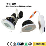 Module de LED remplaçable / GU10 Spotlight Light de salle de bains, IP44 Downlight