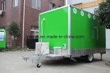 Douane Mobile Food Van Trailer voor Amerikaanse Norm