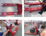 Échelles de camion de palette de main de chariot élévateur