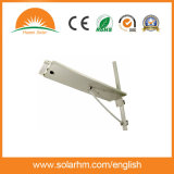 (HM-0015Q) Todos en uno/integraron la luz de calle solar de 15W LED con el sensor de movimiento