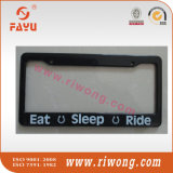 Kundenspezifischer Firmenzeichen-Druck-Plastik wir Größen-Auto-Kfz-Kennzeichen-Rahmen