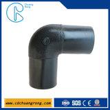 Kolben-Schmelzverfahrens-Krümmer-Rohrfitting für PET Plastikrohrleitung