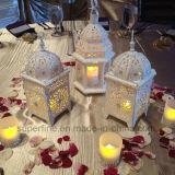 Lindo color sin llama de cambio de Navidad al aire libre de la boda Luminaria Decorativa Vela