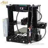 Affissione a cristalli liquidi grande kit DIY della stampante di Reprap Prusa I3 3D di precisione di formato 220*220*250mm di stampa con 10m la scheda del filamento 16GB