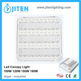 Pabellón ligero IP65 del montaje 120W LED de la superficie de las bombillas del pabellón de la gasolinera del LED