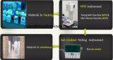 Paleta plástica resistente material modificada HDPE del precio bajo