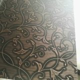 鋼材4X8は装飾的な金属の銅によってめっきされたステンレス製シートを着色した