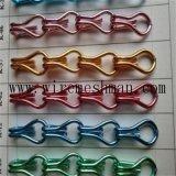 Écran à chaînes en aluminium anodisé de rideaux
