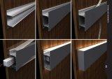 Profil en aluminium de DEL monté 4235 par surfaces pour la lumière de bande de DEL