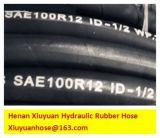 Super Schlauch-flexibler Gummischlauch des Hydrauliköl-SAE100r12-13