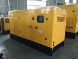 conjuntos de generador diesel silenciosos refrigerados por agua de 80kVA 64kwcummins