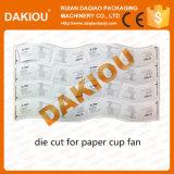 Крен Dakiou высокоскоростной бумажный умирает автомат для резки для бумажного стаканчика