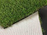 Grama sintética do gramado artificial para a paisagem