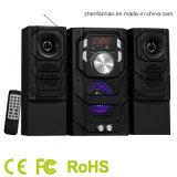 altoparlante di multimedia 2.1CH con Bluetooth per il sistema acustico del teatro domestico