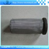 Cartucho de filtro usado en el equipo de la fábrica