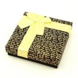 Rectángulo de papel de empaquetado del chocolate del regalo de lujo