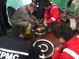 Части колеса вковки ASME SAE AISI для крана
