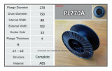 Leere Plastikschweißens-Draht-Spule