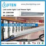 v 모양 30W 5FT T8는 LED Ooler Dlc ETL 기준을%s 가진 가벼운 LED 냉장고 빛을 방수 처리한다