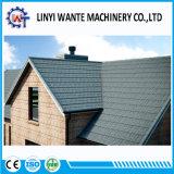 Azulejo de azotea revestido de la ripia del metal de la piedra de la hoja del cinc de los materiales de material para techos