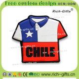 Par décoration à la maison personnalisé souvenir promotionnel Chili (RC-CL) d'aimants de réfrigérateur de PVC de cadeaux