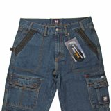 Высококачественные мужские Workwear Оптовая модные джинсы (MY-012)