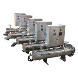 25m3/H 280W Mual die het UVSysteem van de Reiniging van het Water van de Sterilisator schoonmaken