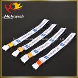 Логос таможни печатание Wristband Tyvek Wristbands зрелищности устранимый