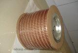 Alambre revestido de nylon del bucle del espiral del metal