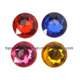 水晶の円形の石造りの卸し売りStrass DMCの熱い苦境のラインストーン(HFss20 siam/3Aの等級)