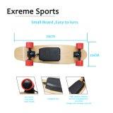$ 77 Hot Sale Controle Remoto 4 Rodas Mini Skate Elétrico