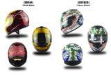 De de professionele Volledige Autoped van het Gezicht/Helm van de Motor/van de Motorfiets (0700B)