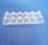 卵のための12のセルPVCまめの荷箱は卵のためのまめの皿を取り除く