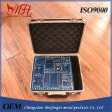 Cassetta portautensili della lega di alluminio di MFT con la gomma piuma ed il sacchetto del ritaglio