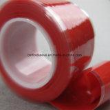 Собственной личности силиконовой резины окиси утюга лента красной сплавляя