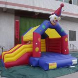 Inflável Clown House Bouncer com Slide / Inflatable Combo for Party