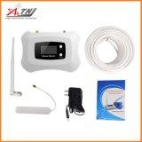 Repetidor móvil de la señal del teléfono celular del aumentador de presión 2g 4G de la señal de DCS de la visualización inteligente completa 1800MHz de +LCD