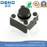 4 Pin DIP táctil interruptor de pulsador Interruptor de tacto