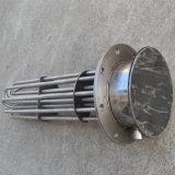 Calentador tubular modificado para requisitos particulares del acero inoxidable