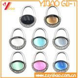 Amo/gancio pieghevoli del sacchetto della borsa del diamante acrilico su ordinazione di marchio per il regalo di Promtoin