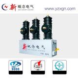 Alta tensão ao ar livre livre 12kv do disjuntor do vácuo da manutenção com mecanismo magnético permanente da operação