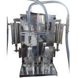 La máquina de rellenar semiautomática para el bolso de la botella puede línea del relleno y de embalaje